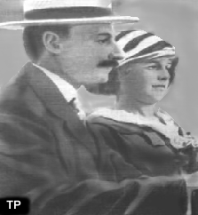 Madeleine Astor with her husband.