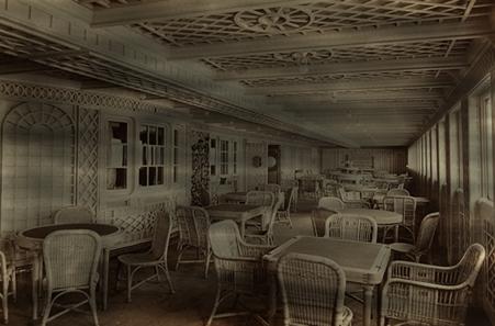 Titanic's Café Parisien
