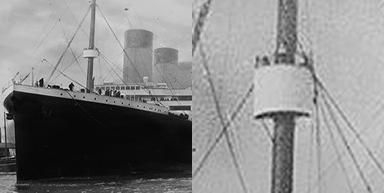 Titanic's crow's nest