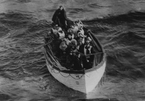 Titanic Lifeboat 6